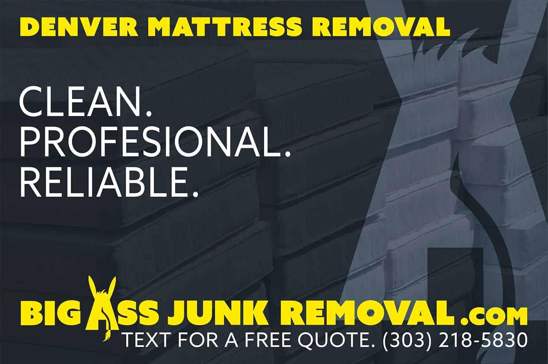 mattress removal big ass junk removal denver
